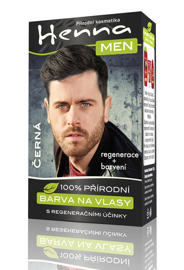 barvící šampon na vlasy pro muže